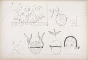Caccia fatta nella barca, e con gli archetti, o gabbiuzze.
