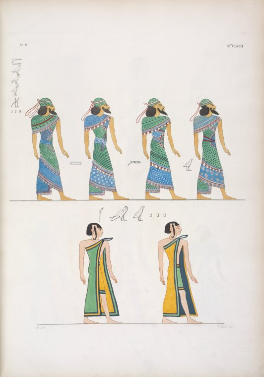 Fascinating Historical Picture of Seti I, King of Egypt in 1832