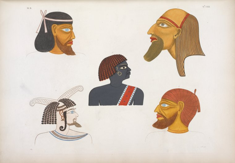 This is What Seti I, King of Egypt Looked Like  in 1832