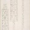 Altre due facce del grande obelisco di Karnac [Karnak], della regina Amense [Hatshepsut].