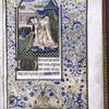 Miniature of King David.