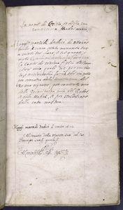 Birth notice of Giovanni Antonio Caracciolo, 12 October 1593.
