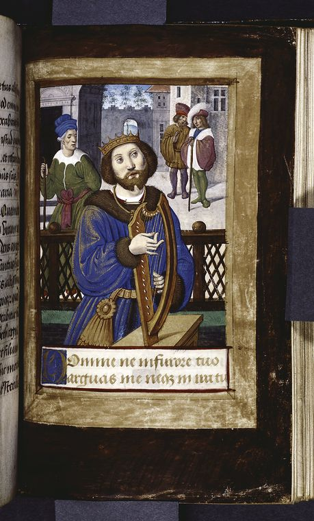 Fascinating Historical Picture of Jean Poyer in 1485