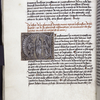 Text with rubric and placemarkers.  Large historiated initial of Assumption of the Virgin.