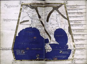 Eleventh map of Asia (southeast Asia), in full gold border.