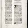Opening of first book of Boethius.