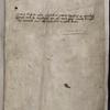 """Note, s. XV, on John Tickhill: """"Orate pro anima fratris Johannis Tikyll sacre pagine Bacallarii et quondam prioris monasterii de Wyrkesopp qui istum librum propriis manibus scripsit necnon deauravit, cuius anima requiescat in pace. Amen."""""""