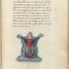 Miniature of Cassiopeia, with text