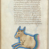 Miniature of Taurus, with text