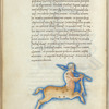 Miniature of the Centaur, with text