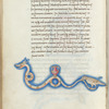 Miniature of Hydra with Crater and Corvus, with text