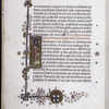 Historiated initial 'I' with St. John, border.