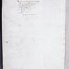 Ex libris, partially erased, of Jacques d'Armagnac.