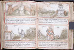 Two miniatures per page.  Text in Italian.