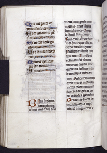 French text, in two different hands.  Initials and linefillers.