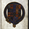Coat of arms of Ambrose Dudley, Earl of Warwick.
