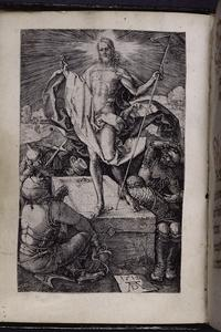 "Durer's ""Resurrection"" (1512) as frontispiece."