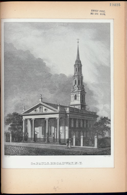 Fascinating Historical Picture of Trinity Church in 1880