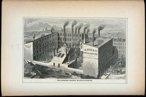 The Broome Street manufactories.