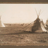 Blackfoot encampment.
