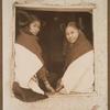 Hopi girls in window.
