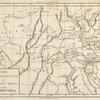 Carte de la Pensylvanie et du Nouveau Jersey