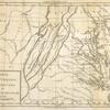 Carte de la Virginie, du Maryland et de l'etat de Delaware.
