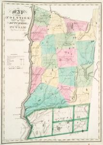 Map of the counties of Dutchess and Putnam / by David H. Burr ; engd. by Rawdon, Clark & Co., Albany, & Rawdon, Wright & Co., New York.