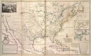 A new map of the north parts of America claimed by France under ye names of Louisiana, Mississipi, Canada and New France, with ye adjoyning territories of England and Spain ... / ... laid down according to the newest and most exact observations by H. Moll, geographer, 1720.