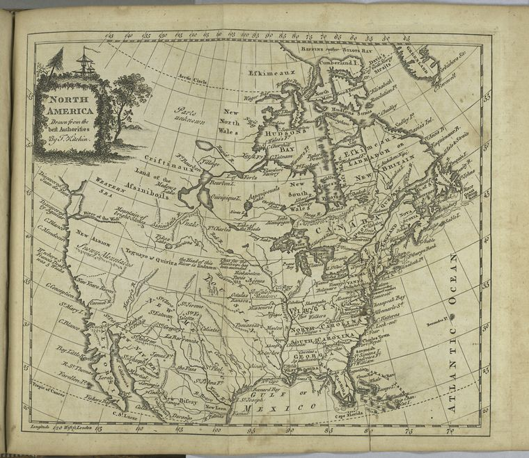 This is What William Guthrie and North America Looked Like  in 1779