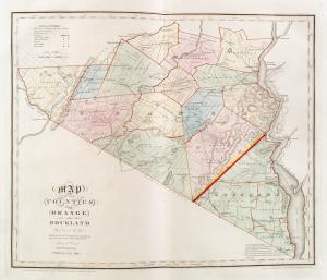 Map of the counties of Orange and Rockland / by David H. Burr ; engd. by Rawdon Clark & Co., Albany, & Rawdon, Wright & Co., N. York.