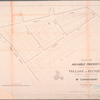 Map of valuable property situated in and adjoining the village of Flushing : (the village line running thro' the property), belonging to Mr. Gansevoort for sale by W. Smart, agent