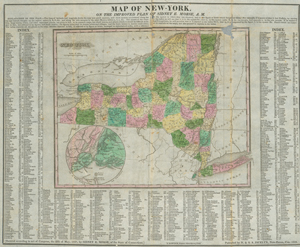 Map of New-York : on the improved plan of Sidney E. Morse ; N. & S.S Jocelyn, sc.