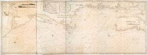 A new chart of the coast of America from Philadelphia to Halifax Harbor / by Wm. Heather, 1809 ; Stephenson, engraver.