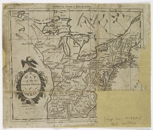 Map of the United States of America / A. Doolittle, sc. N. Haven.