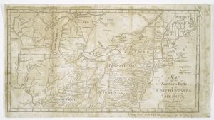 Map of the northern parts of the United States of America / by Abraham Bradley.