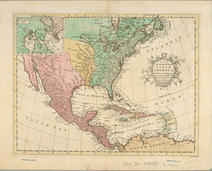 A new and accurate map of North America : laid down according to the latest, and most approved observations and discoveries / R. W. Seale, sculpt.