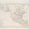 New & accurate map of North America : with the new discovered islands on the north east coast of Asia.