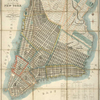 Plan of the city of New-York : the greater part from actual survey made expressly for the purpose (the rest from authentic documents)