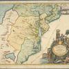 Virginia, Marylandia et Carolina in America septentrionali Britannorum industria excultae