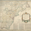 North America from the French of Mr. D'Anville : improved with the back settlements of Virginia and course of Ohio : illustrated with geographical and historical remarks