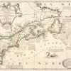 Partie orientale du Canada ou de la Nouvelle France : ou sont les provinces, ou pays de Sagvenay, Canada, Acadie etc., les peuples, ou nations des Etechemins, Iroquois, Attiquameches etc., auec la Nouvelle Angleterre, la Nouvelle Ecosse, la Nouvelle Yorck, et la Virginie, les isles de Terre Neuve, de Cap Breton etc., le Grand Banc etc. dressee sur les memoires les plus nouveaux