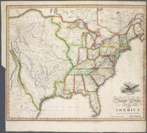 United States of America / compiled from the latest & best authorities by John Melish ; engraved by Saml. Harrison.