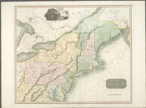 Northern provinces of the United States / drawn & engraved for Thomson's New general atlas, 1817 ; Hewitt Sc. ...
