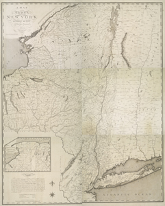 Map of the state of New York / by Simeon De Witt, surveyor general ; engraved by G. Fairman.