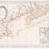 Carte reduite des costes orientales de l'Amerique septentrionale: 1re. feuille contenant L'Isle Royale, L'Accadie, La Baye Françoise, La Nouvelle Angleterre et La Nouvelle Yorc