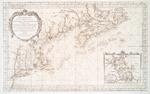 Carte reduite des costes orientales de l'Amerique septentrionale