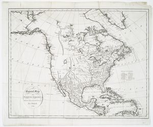 A general map of North America : drawn from the best surveys / by J. Russell ; J. Russell, sculpt, Constitution Row, Grey's Inn Lane.