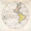 Hemisphere occidental dresse en 1720 pour l'usage particulier du Roy sur les observations astronomiques et geographiques raportées la meme année dans l'histoire et dans les memoires de l'Academie Rle. des Sciences