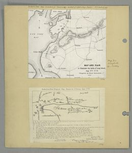 Map and plan to illustrate the battle of Long Island, Aug. 27th 1776 / compiled by Henry Onderdonk, Jr.